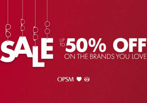 UP TO 50% OFF* ON THE BRANDS YOU LOVE