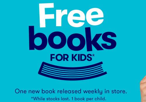FREE Books for Kids at BIG W!