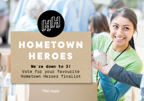 Vote now for your 2019 Hometown Hero!